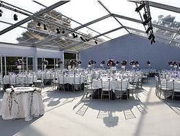 Alu Tents – Clear Frame Tents/White Frame Tents