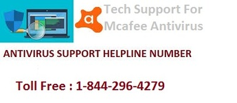 McAfee Antivirus Support Number 1-844-296-4279 for Customer Support